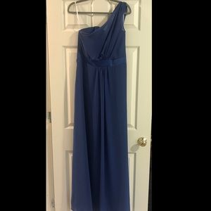 NWT One Shoulder Evening Gown